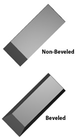 Sorby Non-Beveled and Beveled