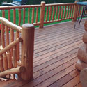 Log Home Deck Finishes