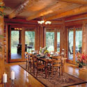 Log Home Floor Finishes