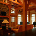 Interior Log Home Finishes