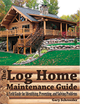 Log Home Maintenance Guide Book Cover