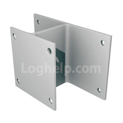 The Maine Deck Bracket is designed to attach to decks, steps, signs ...