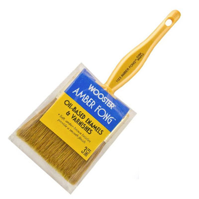 "Paintbrush 3"" China Bristle"
