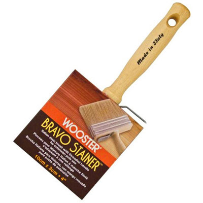 "Paintbrush 4¾"" Bravo Stainer (Oil Only)"