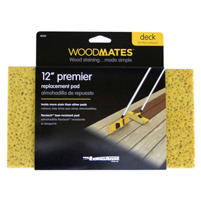 "Woodmates 12"" Replacement Pad"