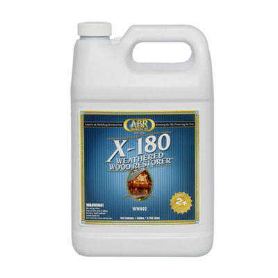 X-180 Weathered Wood Restorer