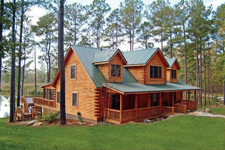 Exterior: Woodguard Wood Finish For Log Homes